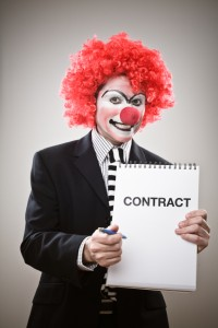 Your Clown Contract